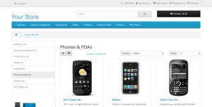 FireShot-Capture-020-Phones-PDAs-demo.opencart.com_-OpenCart - 中文官方网站 | 免费开源商城系统 - OpenCart模板|OpenCart二次开发|OpenCart插件|OpenCart微信|OpenCart APP